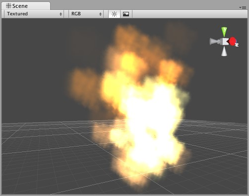 Unity3D基础教程2-4:粒子系统(Particle Systems)