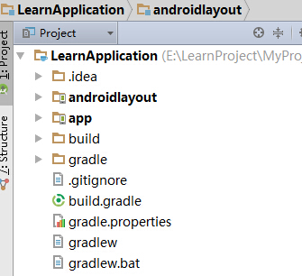 Android Studio中Project和Module的关系